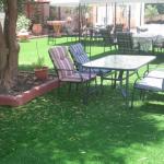 התקנת דשא סינטטי בגן בית פרטי באשדוד